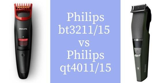 Philips bt3211_15 vs Philips qt4011_15 feature image