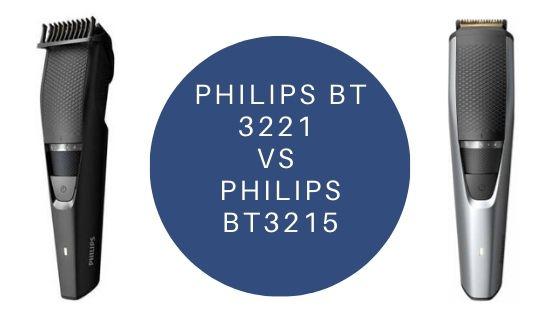 Philips BT3221 VS Philips BT3215